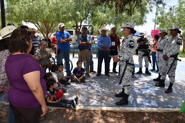 Hace Guardia Nacional recorridos por zonas vulnerables de Salamanca