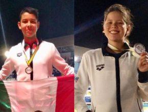 Brillan celayenses en Campeonato Centroamericano y del Caribe de Natación 2019