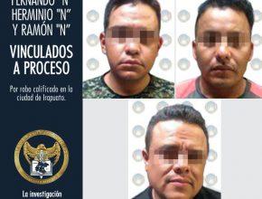 Vinculan a proceso a policías que resultaron ladrones en Irapuato