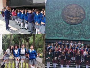 Estudiantes de la SEG visitan el Palacio Legislativo de San Lázaro