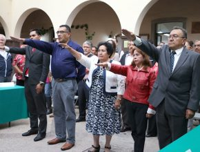 Rinden protesta integrantes del Órgano Auxiliar de la CNPI del PRI